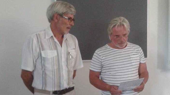 Scheidender Ortsvorsteher von Großziethen wurde geehrt.